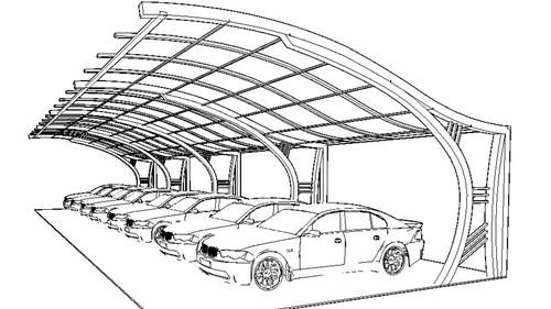 تأمین پارکینگ در مازاد فضای باز